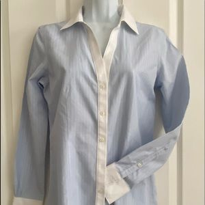 Brooks brothers tailored 100% cotton shirt